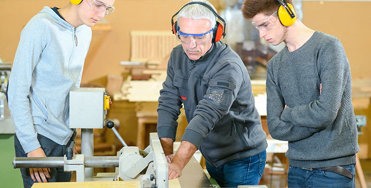 Training Services for Woodworking Machines
