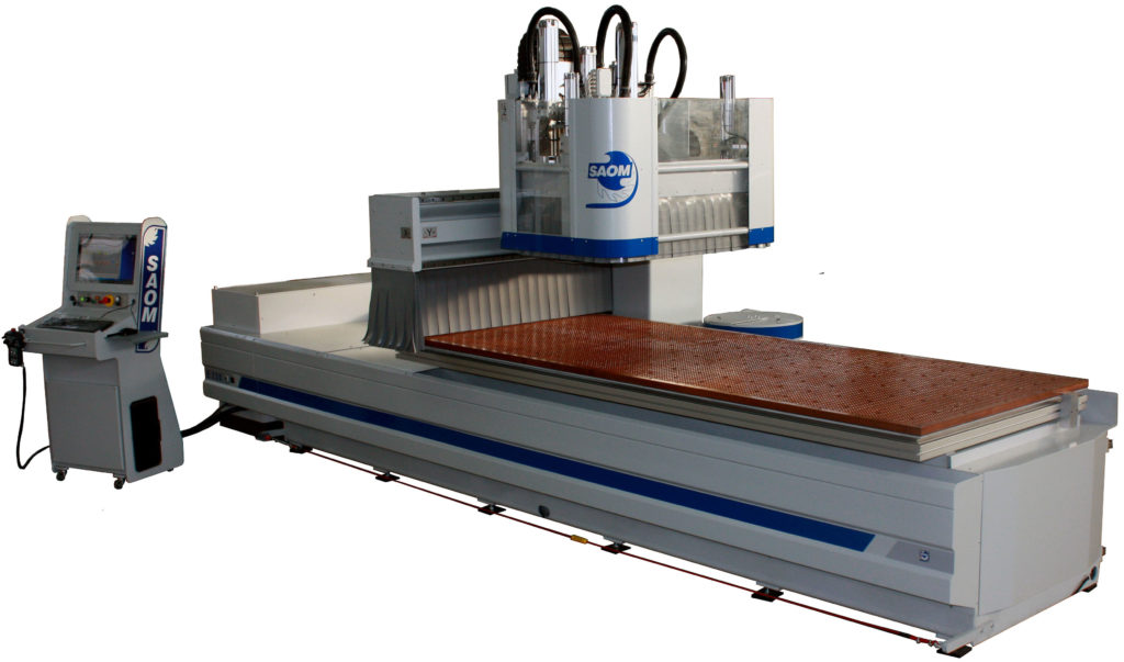 cnc saom 3 axis metrix table